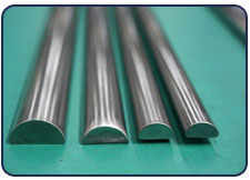 Nickel Alloy  Half Round bar