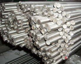 Stainless Steel Round Bars in our stockyard