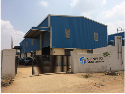 sunflex metal Factory Gallery