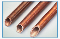 Copper Fin Tubes Stockist | Copper Fin Tubes Dealers | Copper Fin Tubes Manufacturers | Copper Fin Tubes Exporters | Copper Fin Tubes Suppliers